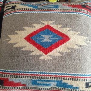 Pair of Hand Sewn Indian Tribe Pillows